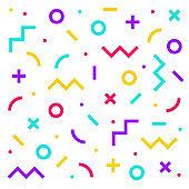 Geometric style illustration