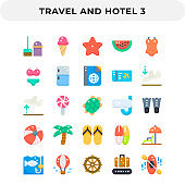 Flat Icons Pack for UI. Pixel perfect vector icon set for web design and website application.