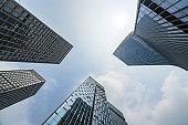 Windows of Skyscraper Business Office of shenzhen ,china