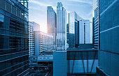 Windows of Skyscraper Business Office of qingdao ,china