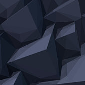 Background with abstract black cubes