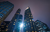 Modern Urban Architecture, Skyscrapers in Qingdao, China
