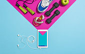 Fitness and sports training app