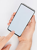 Using smartphone isolated