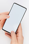 Smartphone with clean screen