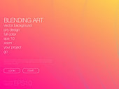 Abstract blend background. Template for web site