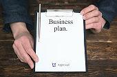 Business plan.