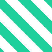 Seamless vector diagonall stripe pattern green and white.