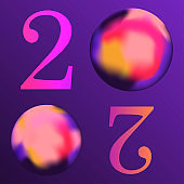 New Year vector banner template