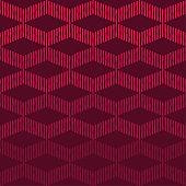 Ethnic boho seamless pattern. Hand hatching. Patchwork texture.