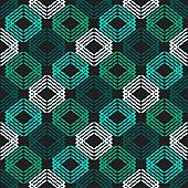 Ethnic boho seamless pattern. Lace. Embroidery on fabric.