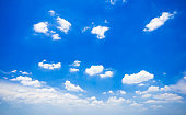 tranquil with beautiful cloud and blue sky background.