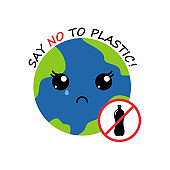 crying earth. no plastic