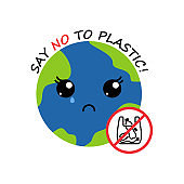 crying earth. no plastic
