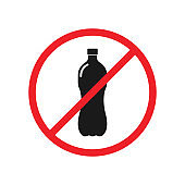 no plastic prohibition signs