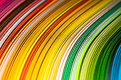 Abstract color rainbow