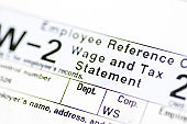 W-2 Form - Federal Filing Wage and Tax Statement