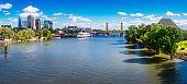 Sacramento River near Old Town Sacramento, California