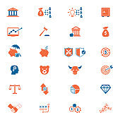 Investment, Finance and Money Icons