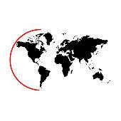 The globe logo