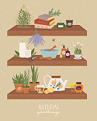 Apothecary of natural wellness, organic, aromatherapy, essential oils, incense, herbal tea, candles, wildflowers and herbs.