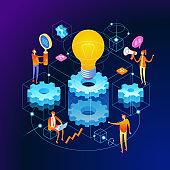 Banner innovation concept