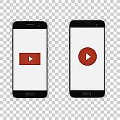 Phone, video player