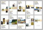 Creative social networks stories design, vertical banner or flyer templates with colorful gradient design geometric trending elements. Covers design template for flyer, leaflet, brochure, presentation