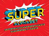 super hero font