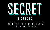 3D alphabet design