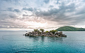 koh chang island beautiful traveling seascape of Trat province Thailand