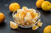Fresh Tangerine pieces