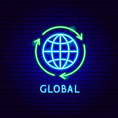 Global Neon Label