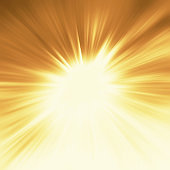 Bright sunbeams shiny summer background with vibrant yellow colors