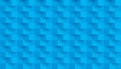 Blue background, abstract seamless pattern.