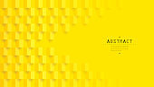 Yellow abstract background vector.