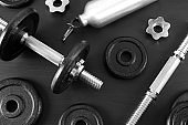 Dumbbell and parts