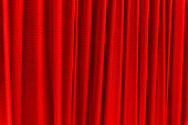 Red curtain - use for background
