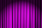 closed purple velvet curtain - use for background
