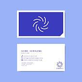 Business card sample design template