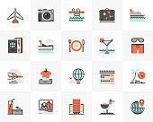 Vacation Trip Futuro Next Icons Pack