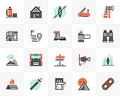 Outdoor Recreation Futuro Next Icons Pack