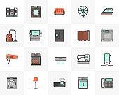 Home Appliances Futuro Next Icons Pack