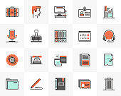 Office Management Futuro Next Icons Pack