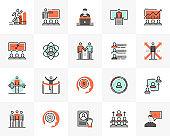 Business Training Futuro Next Icons Pack