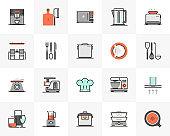 Kitchen Appliances Futuro Next Icons Pack