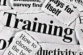 """""""Training"""" headline amongst many similar ones"""