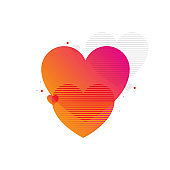 valentine background vector, Valentine's Day Love and Feelings Sale Background Design, Vector illustration, Heart Shape, Internet, Web Banner, Online Messaging, Price