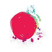 Watercolor Paints, Splashing, Spray, Watercolor Painting, Banner design, holi banner, holi background, festival celebration background