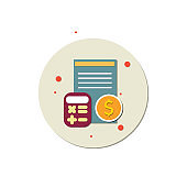 book keeping icon, accounting icon vector, Paycheck, Icon, Accounting Ledger, Business analyst, Financial Advisor, Accountancy